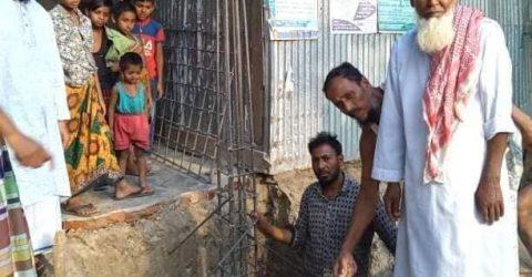 রামগতি: আশ্রম বাজারে মসজিদ নির্মানে সহযোগিতা কামনা