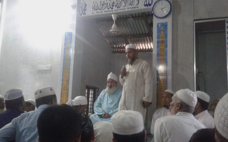 চর রমিজ ১নং ওয়ার্ডে পাঞ্জেগানা মসজিদ উদ্বোধন